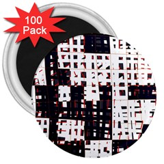 Abstract City Landscape 3  Magnets (100 Pack) by Valentinaart