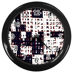 Abstract City Landscape Wall Clocks (black) by Valentinaart