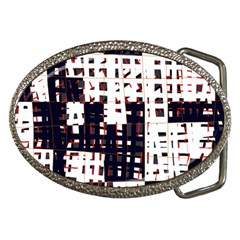 Abstract City Landscape Belt Buckles by Valentinaart