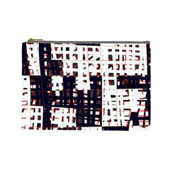 Abstract City Landscape Cosmetic Bag (large)  by Valentinaart