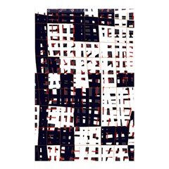 Abstract City Landscape Shower Curtain 48  X 72  (small)  by Valentinaart