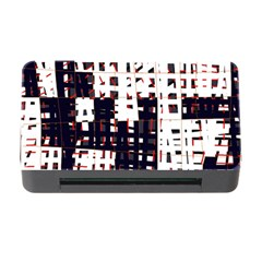 Abstract City Landscape Memory Card Reader With Cf by Valentinaart