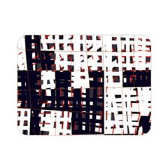 Abstract City Landscape Double Sided Flano Blanket (mini)  by Valentinaart
