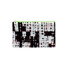 Abstract City Landscape Cosmetic Bag (xs) by Valentinaart