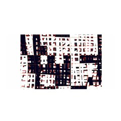 Abstract City Landscape Satin Wrap