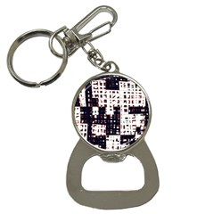 Abstract City Landscape Bottle Opener Key Chains by Valentinaart