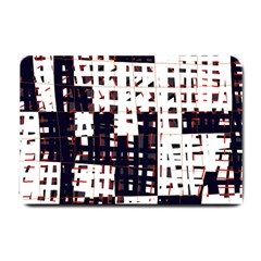 Abstract City Landscape Small Doormat