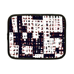 Abstract City Landscape Netbook Case (small)  by Valentinaart