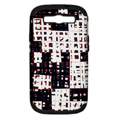 Abstract City Landscape Samsung Galaxy S Iii Hardshell Case (pc+silicone) by Valentinaart