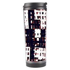 Abstract City Landscape Travel Tumbler