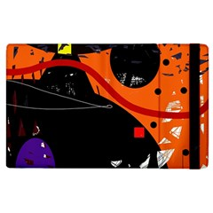 Orange Dream Apple Ipad 2 Flip Case by Valentinaart