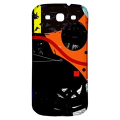 Orange Dream Samsung Galaxy S3 S Iii Classic Hardshell Back Case by Valentinaart