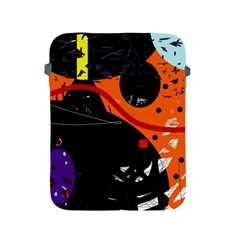 Orange Dream Apple Ipad 2/3/4 Protective Soft Cases by Valentinaart