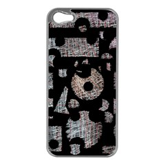 Elegant Puzzle Apple Iphone 5 Case (silver)