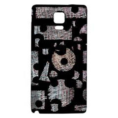 Elegant Puzzle Galaxy Note 4 Back Case by Valentinaart
