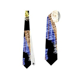 Colorful Puzzle Neckties (one Side)  by Valentinaart