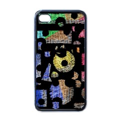 Colorful Puzzle Apple Iphone 4 Case (black) by Valentinaart