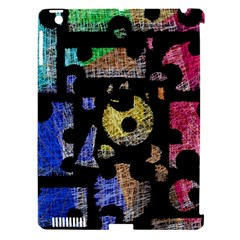 Colorful Puzzle Apple Ipad 3/4 Hardshell Case (compatible With Smart Cover) by Valentinaart