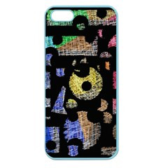 Colorful Puzzle Apple Seamless Iphone 5 Case (color) by Valentinaart