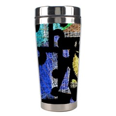 Colorful Puzzle Stainless Steel Travel Tumblers by Valentinaart
