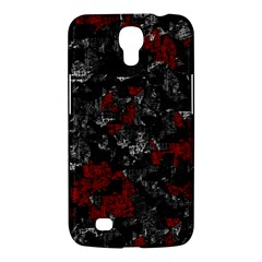 Gray And Red Decorative Art Samsung Galaxy Mega 6 3  I9200 Hardshell Case by Valentinaart