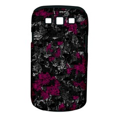 Magenta And Gray Decorative Art Samsung Galaxy S Iii Classic Hardshell Case (pc+silicone) by Valentinaart