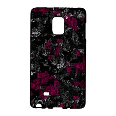Magenta And Gray Decorative Art Galaxy Note Edge by Valentinaart