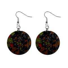 Autumn Colors  Mini Button Earrings by Valentinaart