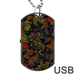 Autumn Colors  Dog Tag Usb Flash (two Sides)  by Valentinaart
