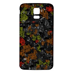 Autumn Colors  Samsung Galaxy S5 Back Case (white) by Valentinaart