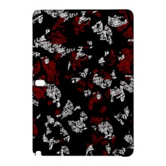 Red, White And Black Abstract Art Samsung Galaxy Tab Pro 10 1 Hardshell Case