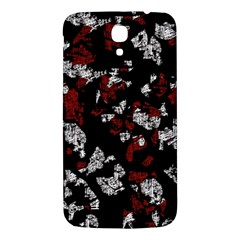 Red, White And Black Abstract Art Samsung Galaxy Mega I9200 Hardshell Back Case