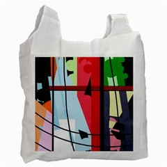 Window Recycle Bag (two Side)  by Valentinaart