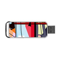 Window Portable Usb Flash (two Sides) by Valentinaart