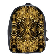 Beautiful Gold Brown Traditional Pattern School Bags (xl)  by Costasonlineshop