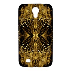 Beautiful Gold Brown Traditional Pattern Samsung Galaxy Mega 6 3  I9200 Hardshell Case by Costasonlineshop