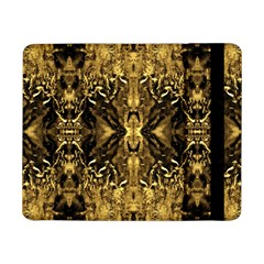 Beautiful Gold Brown Traditional Pattern Samsung Galaxy Tab Pro 8 4  Flip Case by Costasonlineshop