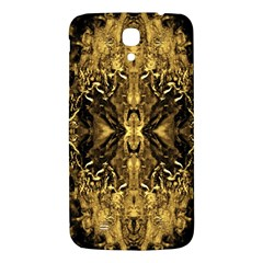 Beautiful Gold Brown Traditional Pattern Samsung Galaxy Mega I9200 Hardshell Back Case by Costasonlineshop