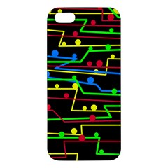 Stay In Line Iphone 5s/ Se Premium Hardshell Case by Valentinaart
