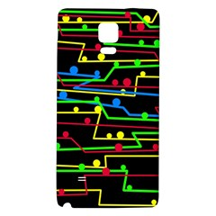 Stay In Line Galaxy Note 4 Back Case by Valentinaart