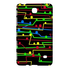 Stay In Line Samsung Galaxy Tab 4 (7 ) Hardshell Case  by Valentinaart