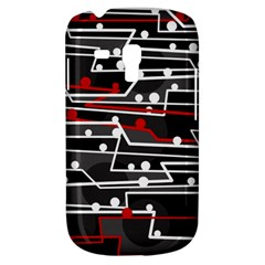 Stay In Line Samsung Galaxy S3 Mini I8190 Hardshell Case by Valentinaart