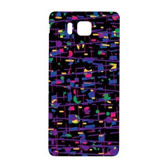 Purple Galaxy Samsung Galaxy Alpha Hardshell Back Case