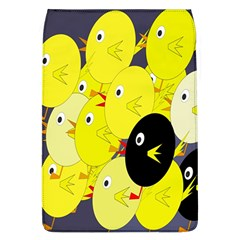 Yellow Flock Flap Covers (l)