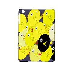 Yellow Flock Ipad Mini 2 Hardshell Cases by Valentinaart