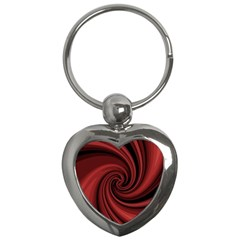 Elegant Red Twist Key Chains (heart)  by Valentinaart