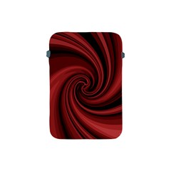 Elegant Red Twist Apple Ipad Mini Protective Soft Cases by Valentinaart