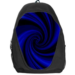 Blue Decorative Twist Backpack Bag by Valentinaart