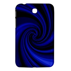 Blue Decorative Twist Samsung Galaxy Tab 3 (7 ) P3200 Hardshell Case  by Valentinaart