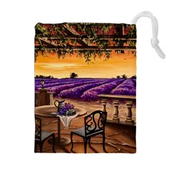 Lavender Drawstring Pouches (extra Large)